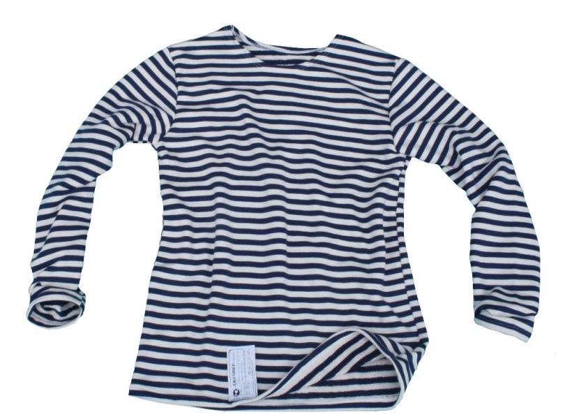 eb004603fac1 Ruské námořnické tričko orig. zimní tmavě modré pruhy