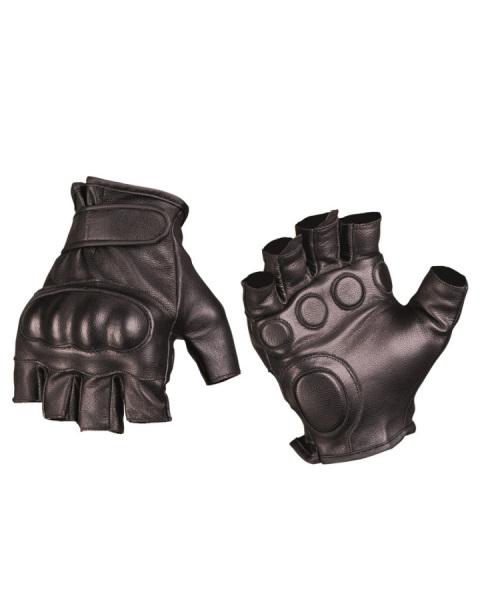 e9827396e Taktické rukavice bezprstové kožené černé | Army shop - Westarmy