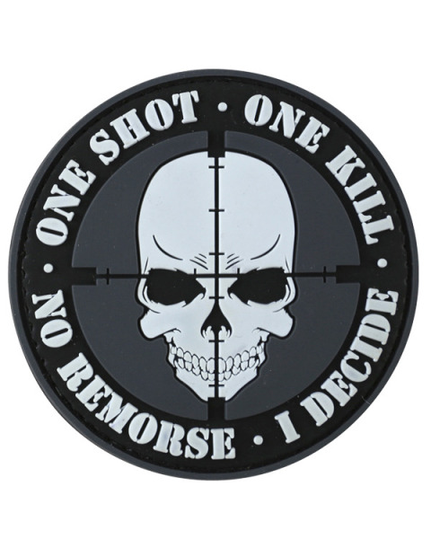 "VELCRO panel ""One Shot, One Kill"""
