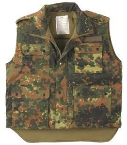 8c995d8c52d9 Zateplená vesta Ranger flecktarn
