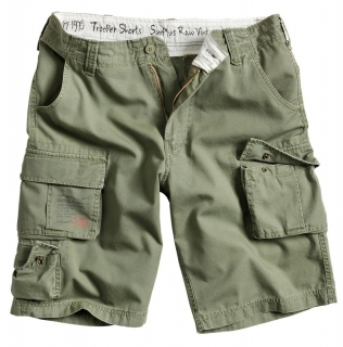 Kraťasy Surplus TROOPER SHORTS oliv