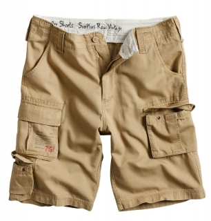 Kraťasy Surplus TROOPER SHORTS pískové