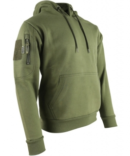 Mikina s kapucí Tactical Hoodie oliv