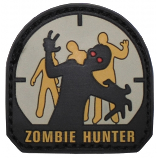 "VELCRO panel ""Zombie Hunter"" 3D"