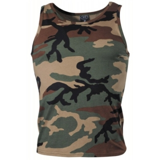 Tílko US-Tank Top woodland