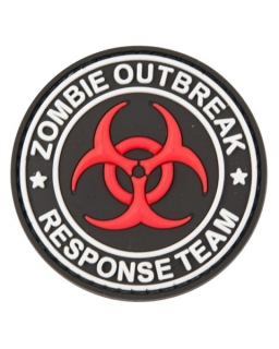 VELCRO panel Zombie Outbreak Patch