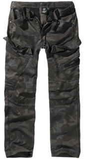 Kalhoty Brandit Adven Slim Fit Trousers dark camo